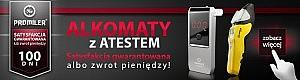 Alkomaty Promiler Promocja - 100 dni na zwrot