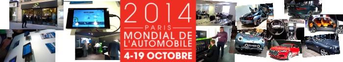 Targi motoryzacyjne- Paryż 2014