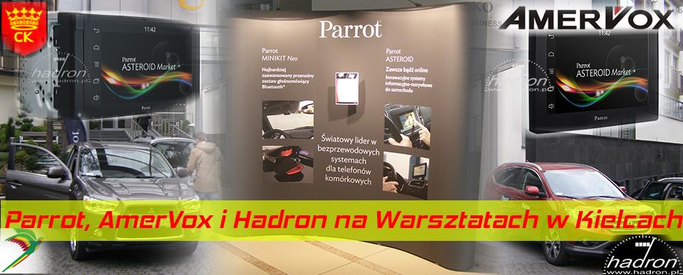 Parrot, AmerVox i Hadron na warsztatach w Kielcach