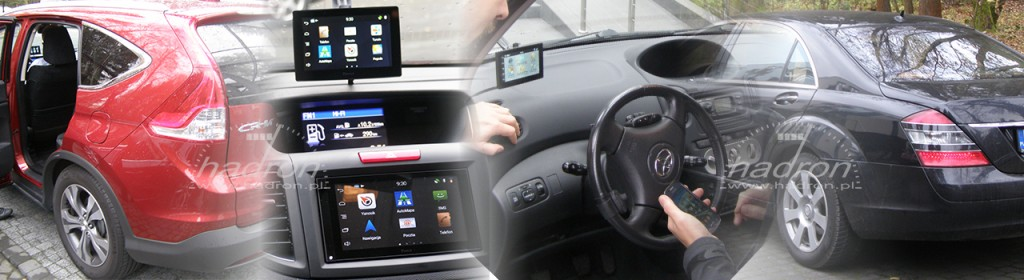 Parrot Asteroid Smart i Parrot Asteroid Tablet zamontowane w samochodach