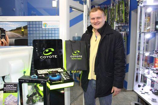 Rafał - zwycięzca akcji Coyota