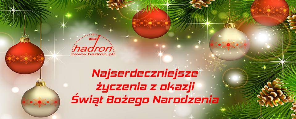Boże Narodzenie 2014 – życzenia Hadronu