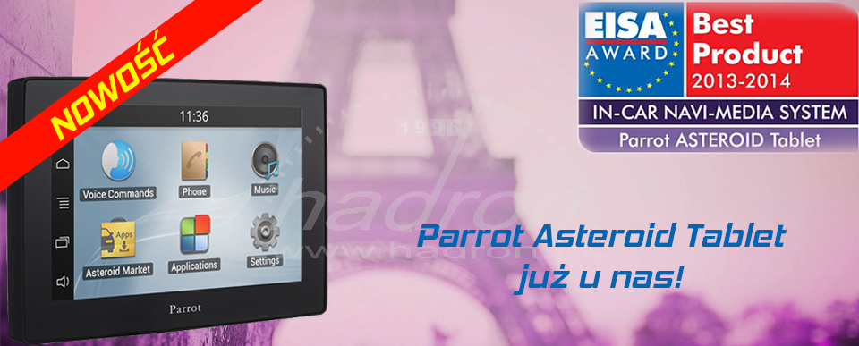 Parrot Asteroid Tablet - NOWOŚĆ w Hadronie
