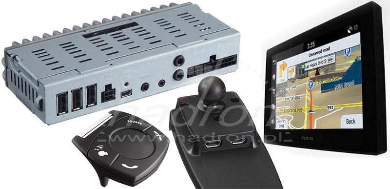 Parrot Asteroid Tablet - eBox, pilot, uchwyt, ekran