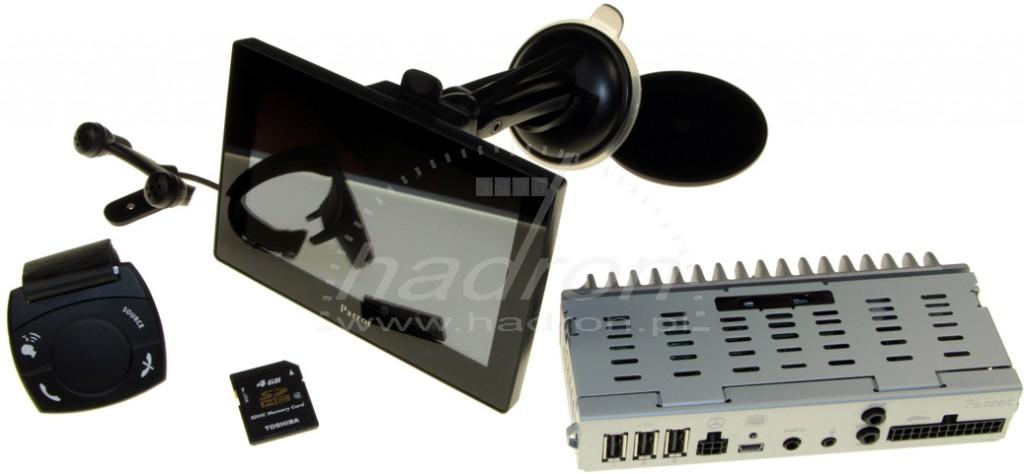"""Parrot Asteroid Tablet - system multimedialno-nawigacyjny z odłączanym ekranem 5"""""""