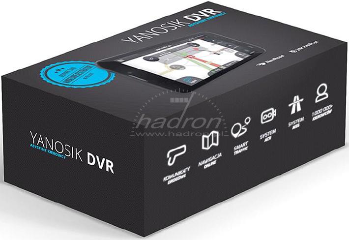 Interaktywny komunikator Yanosik DVR w pudełku