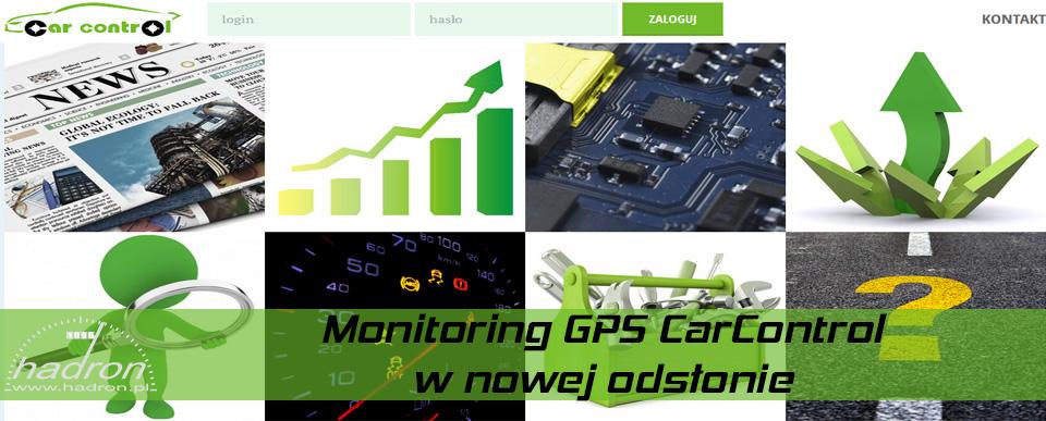Monitoring GPS CarControl w nowej odsłonie