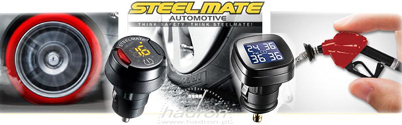 Czujniki ciśnienia w oponach Steelmate
