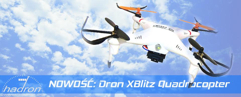 NOWOŚĆ: Dron XBlitz Quadrocopter Raider 8957