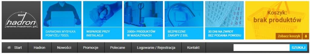 Sklep motoryzacyjny Hadron (Warszawa, Bielany)