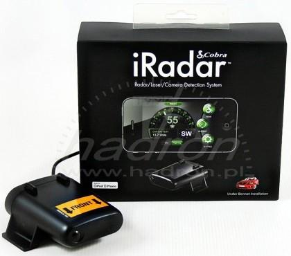 Antyradar Cobra Snooper iRadar S120R iOS