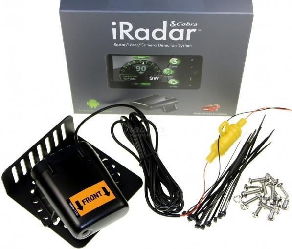 Antyradar Cobra Snooper iRadar S125R Android
