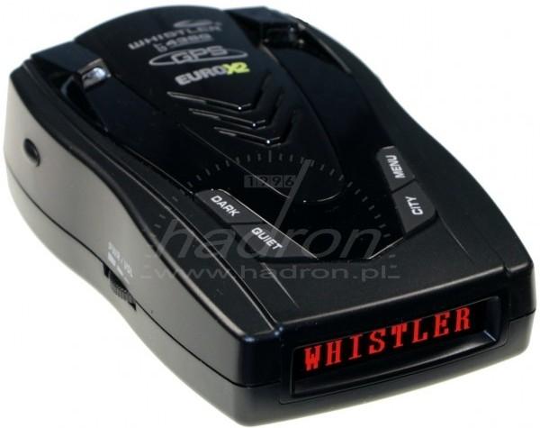 Antyradar Whistler GT-438G Euro X2 z GPS