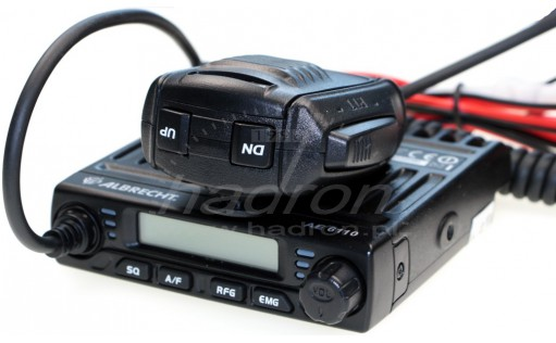 CB radio ALBRECHT AE-6110 mini AM-FM-ASQ