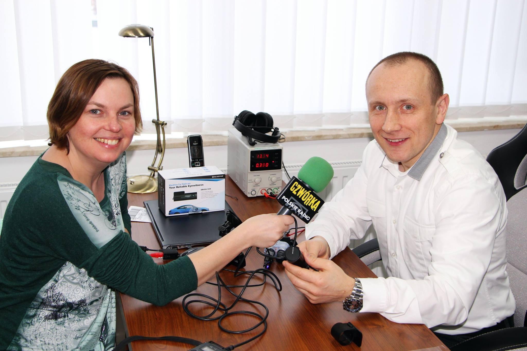 Wywiad dla radiowej czwórki o wideorejestratorach