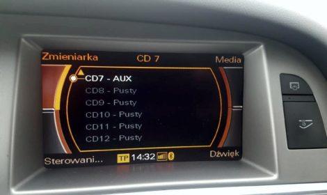 Muzyka przez Bluetooth w Audi